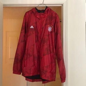 Bayern Munich Adidas wind runner